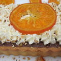 Tarte chocolat - orange