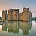 Bodiam castle - sussex - royaume-uni