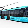 Alstom développe un nouveau citadis pour francort