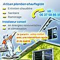 Energie+ Plombier Chauffagiste à Roanne et alentours