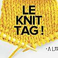 * knit tag *