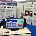 Groupement adas on a both in stuttgart at automotive vehicle test & development