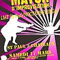 Match d'impro par la liat à st paul le 17 mars 2012