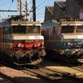 BB 7211 & la 22347, dépôt de Toulouse