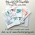 New! diy project life cards 2016