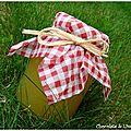 Confiture courgette - citron