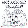 Coloriage d'halloween