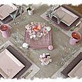 table rose poudrée 024