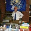 Stand Unicef tenu par M. René