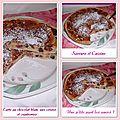 Tarte sablée au chocolat blanc, cerises et cranberries + concours de natt