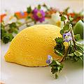 Dessert au citron de menton et chocolat blanc façon