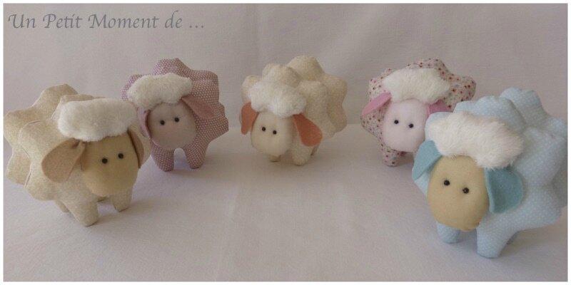 Moutons en famille 1