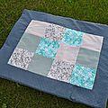 Joli plaid en patchwork