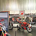 Visite à la Une : <b>Ducati</b> à Besançon