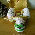 Amigurumis : les petits œufs de pâques