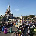 Fête <b>givrée</b> pour les enfants à Disneyland Paris