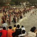 Baignade Indienne - Fort Kochi Beach - Fort Kochi