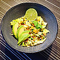 Salade Thaï au robot mixeur