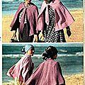 O1/ Pèlerine au tricot