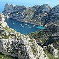 Marseille, calanque de Sormiou, vue du sentier (13)