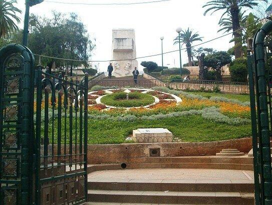 Alger- horloge florale