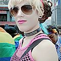 Marta at the Gay Pride_Daaram_2013