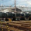 Ôsaka, JR 207 & 321