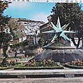Cavaillon - fontaine du Polyèdre datée 1966