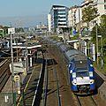 A bord de l'intercités paris - le havre