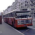 50 ans de bus articulés en france