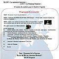 Anniversaire des 50 ans de l'association départementale du planning familial de vaucluse