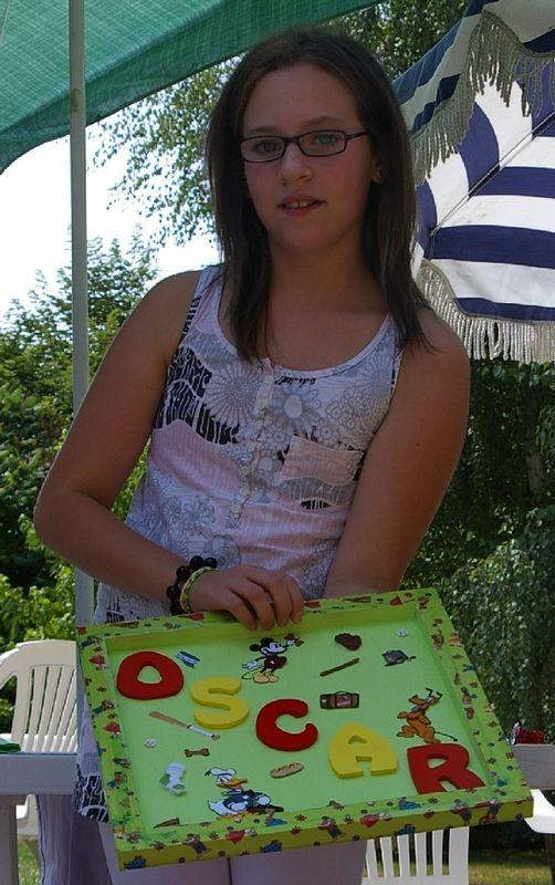 Aurélia cadeau Oscar