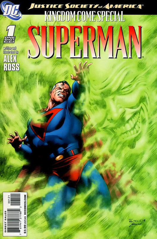 DC comics justice society of america kingdom come special superman variant