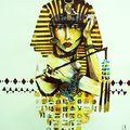 femme egypte, expo graphik #3, rio de janeiro
