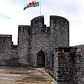 Troisième jour, les <b>châteaux</b> de Caerphilly et Castell Coch