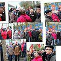Des ploemeurois avec les syndicats, samedi 23 novembre 2013, pour la defense de l'emploi