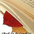 Check-up du lundi 02.11.15
