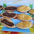Barquettes maison nutella ou lemon curd