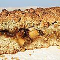 Biscuits moelleux aux pommes et dattes: ne songez même pas à ce qu'il en reste!