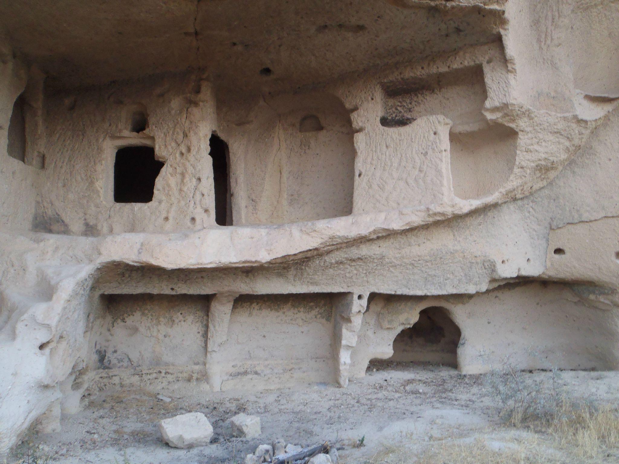 turquie cappadoce habitation