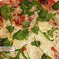 Pizza au thon piquant