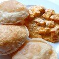 The indian coffee house; puis poori: pain frits indiens et butter paneer