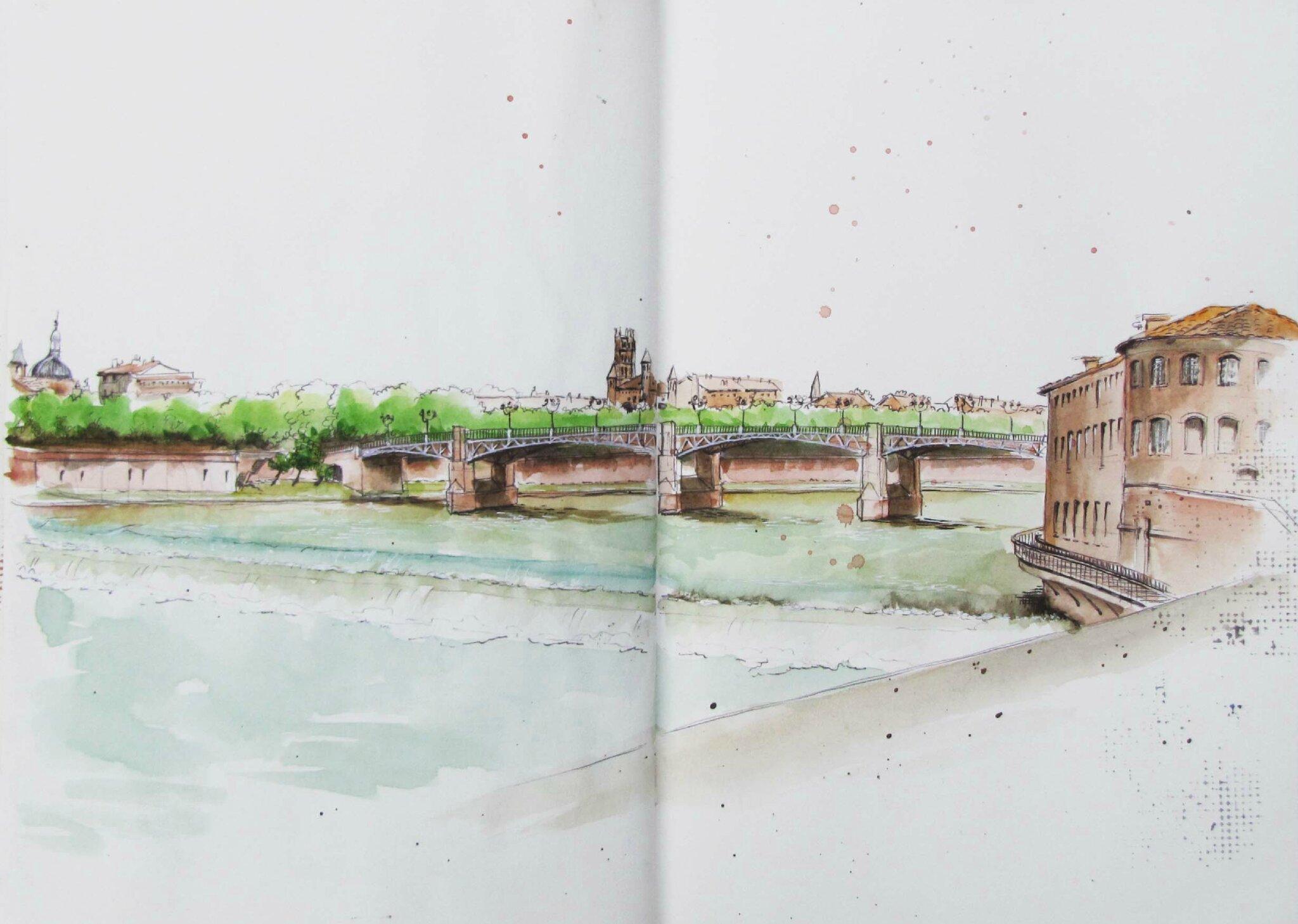 Toulouse : le Pont St Pierre