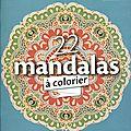 22 mandalas à colorier
