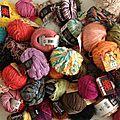 Lacet, dentelle et fils à tricoter ou à broder