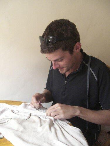Opération couture, à Sucre