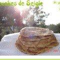 Pancakes de seigle tout légers, usa (sans huile)