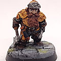 Dwarf with Axe and Knife / Citadel