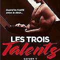 Les trois talents tome 1 : le conteur d'histoires de emma cavalier