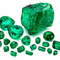 The Marcial de Gomar of Colombian <b>emeralds</b> goes under the hammer on 25th april
